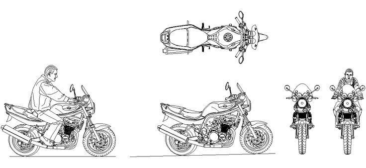 Dwg Adi Autocad Motorsiklet Cizimi Indirme Linki Www Dwgindir Com Adi Autocad Cizimi Dwg Indirme Linki Cizim Cizimler Ve Autocad