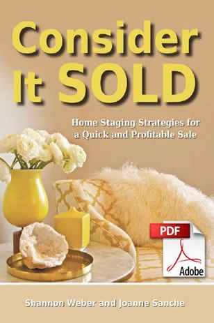 Handy home staging tips from a Saskatoon company.