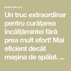 Un truc extraordinar pentru curățarea încălțămintei fără prea mult efort! Mai eficient decât mașina de spălat. - Perfect Ask