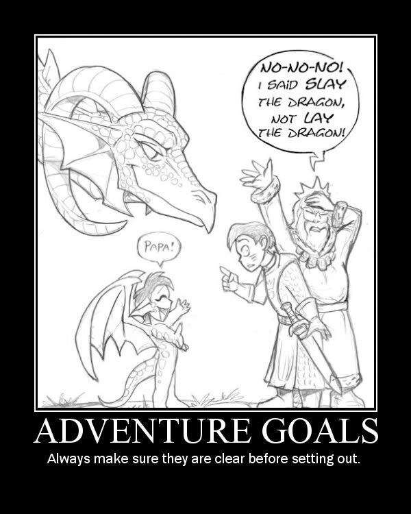 adventure goals