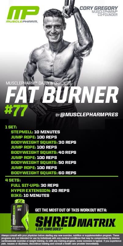MP Fat Burner #77