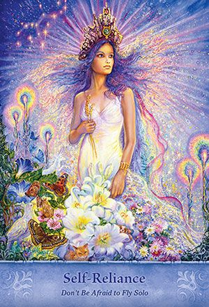 Inspirational Wisdom from Angels and Fairies Deck