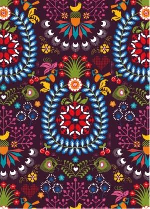 Hanna Werning (Lagom) - based in Stockholm. Prints on gift wrap, fabric, mugs, fashion, books etc