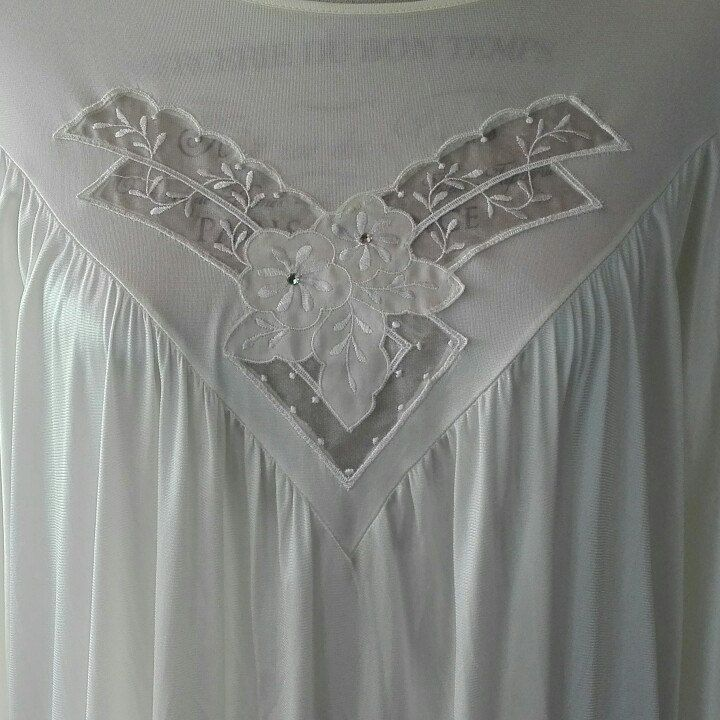 Camicia da notte shabby chic vintage giallino SPOSA Shabby chic romantica