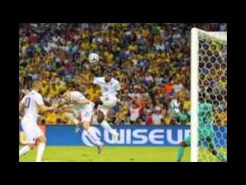 France 2 Vs Nigeria 0 Knock Out Stage , Fifa world cup 2014,  #benzema #pogba #france