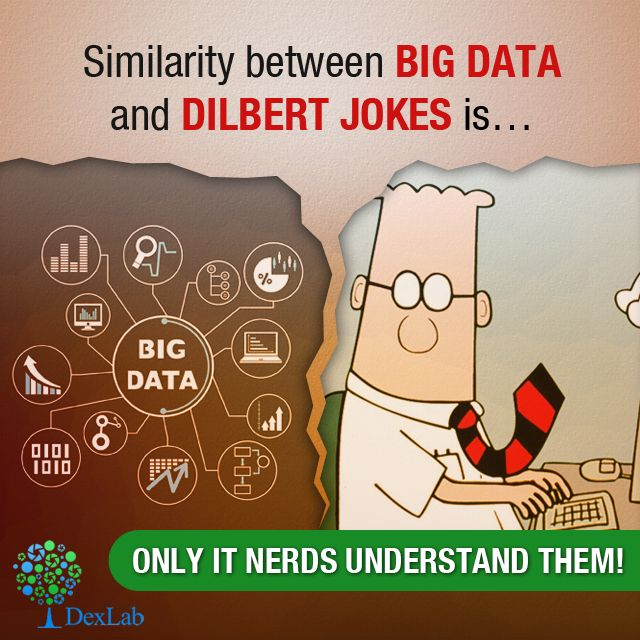 What is similar about #BigData and Dilbert Comics… find out here