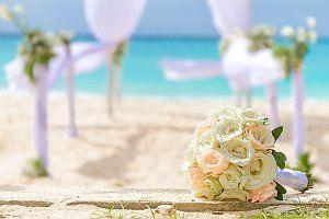 Hochzeit am Strand in Holland