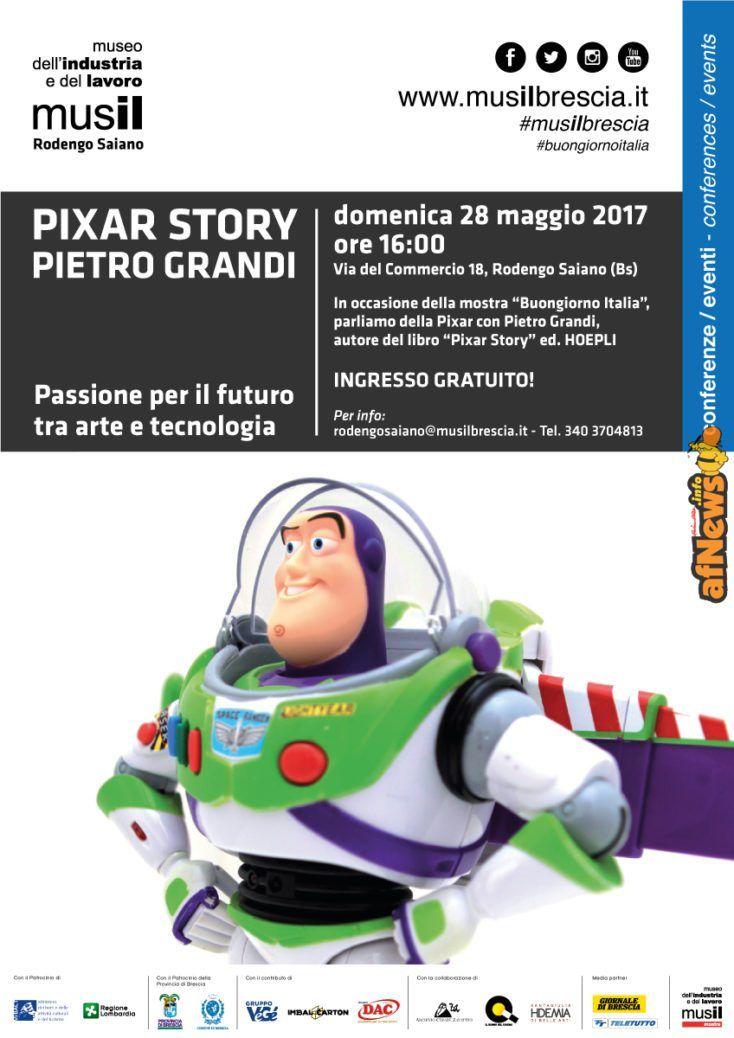 Al Musil passato, presente e futuro di Pixar raccontati da Pietro Grandi - http://www.afnews.info/wordpress/2017/05/24/al-musil-passato-presente-e-futuro-di-pixar-raccontati-da-pietro-grandi/