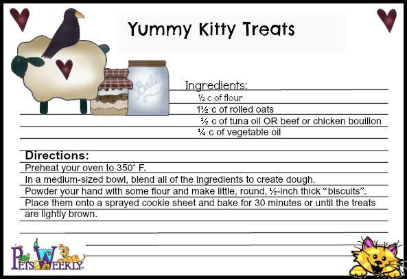 Three Healthy, Homemade Cat Treats Your Feline Will Adore