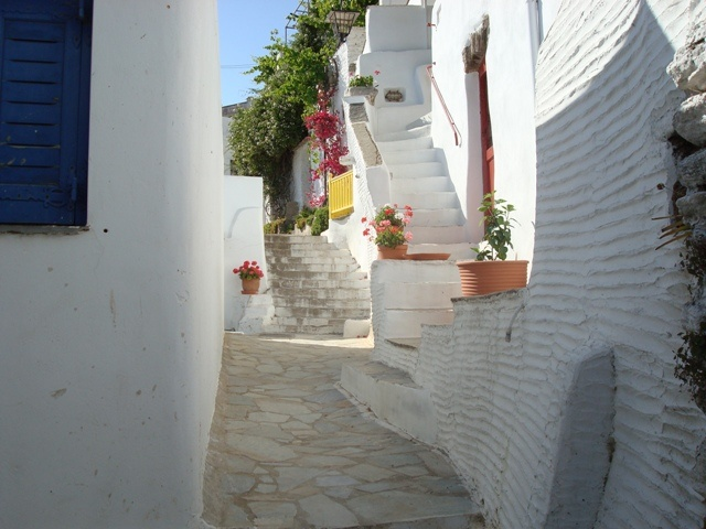 Traditional village in Tinos