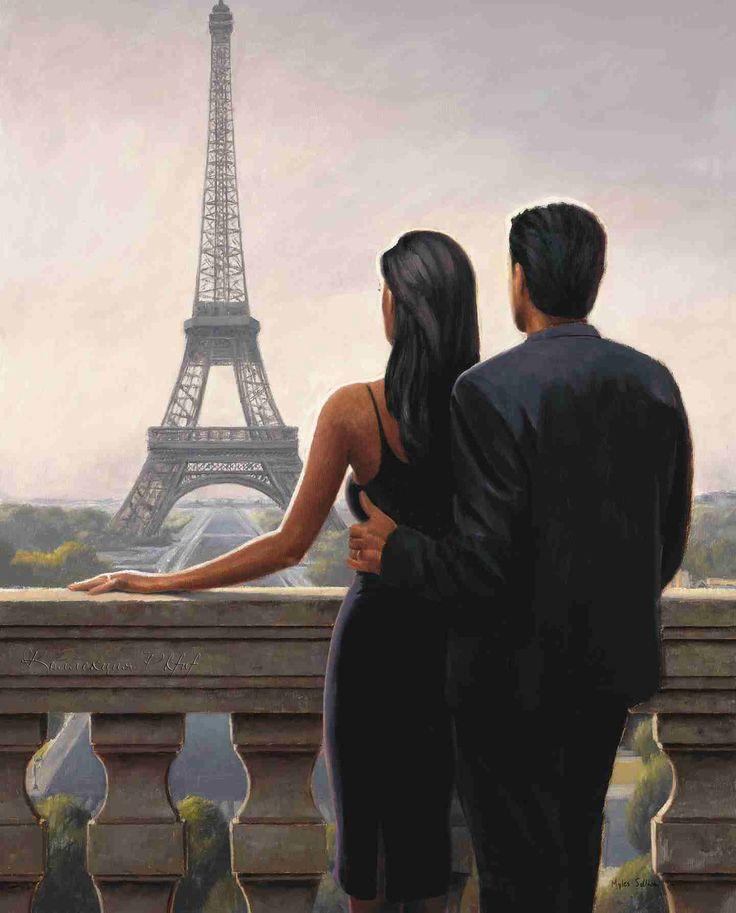 Картинка нарисованная мужчина и женщина