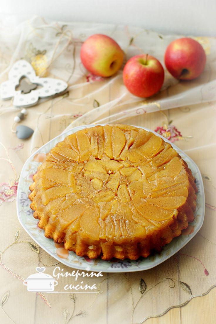 torta di mele rovesciata  https://blog.cookaround.com/gineprinacucina/torta-di-mele-rovesciata-soffice/