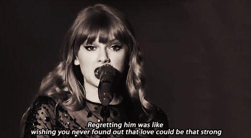 Thanks for your beautiful lyrics Taylor Swift