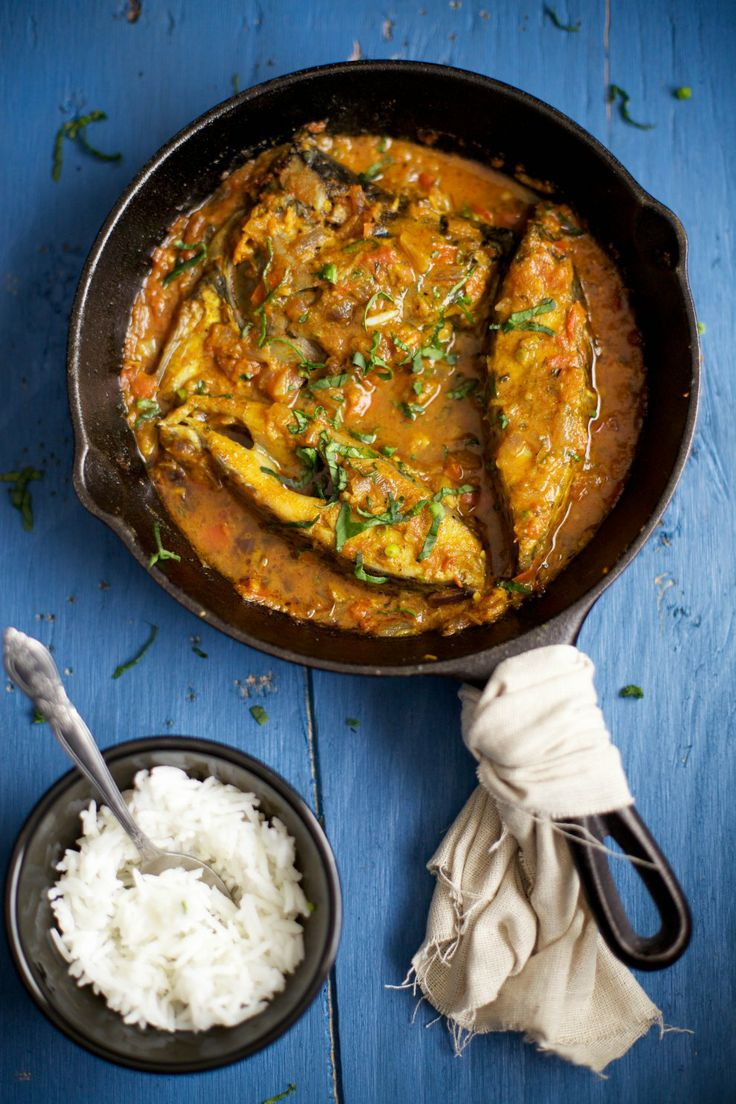 Spicy Fish curry - Sinfully Spicy