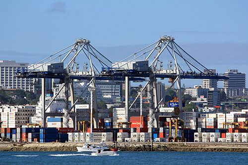 Ports of Auckland is New Zealand's leading port company