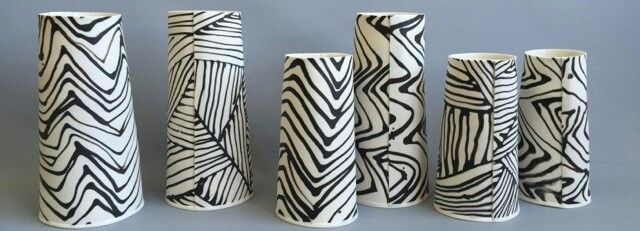 New in! Magnificent range of Lisa Firer's porcelain vessels.