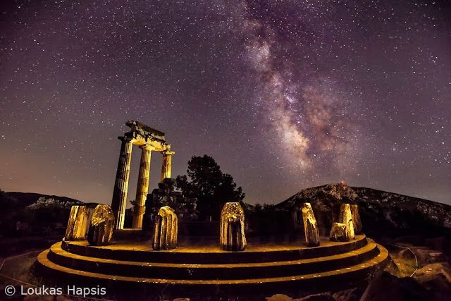 ΔΕΛΦΟΙ. Θόλος της Αθηνάς Προναίας.