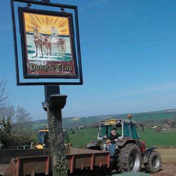 The Pony & Trap, on a quiet country lane outside the sleepy Somerset village of Chew Magna (just outside Bristol), is Michelin-starred dining in a country pub that also serves ham, egg and chips and with a tractor parked next to the pub that gained chef Josh Eggleton his place in the red book.