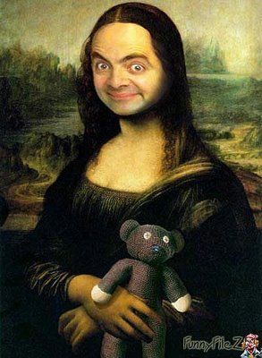 Mr. Bean Mona Lisa Portraits – Holytaco