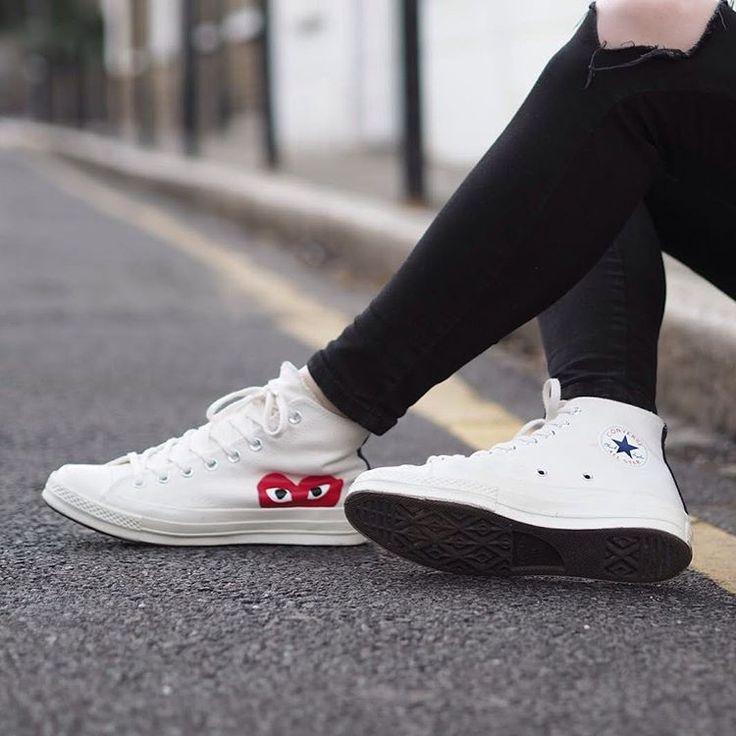 Sneakers femme - Converse x Comme des garçons (©ropesofholland)