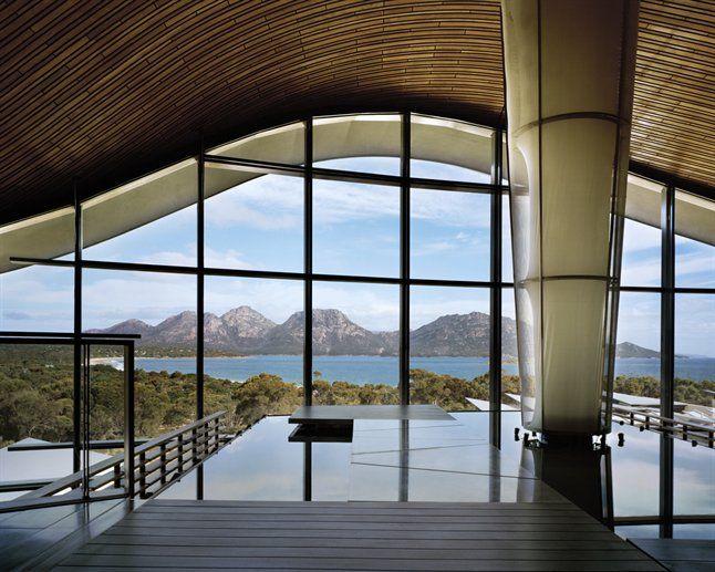 Saffire Eco Lodge in Tasmania's Freycinet National Park