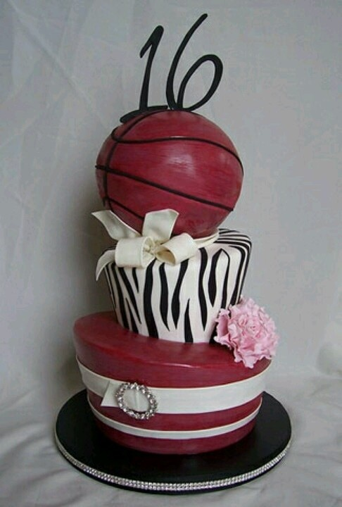 Very nice sweet 16 combining love of sports AND being a girl!