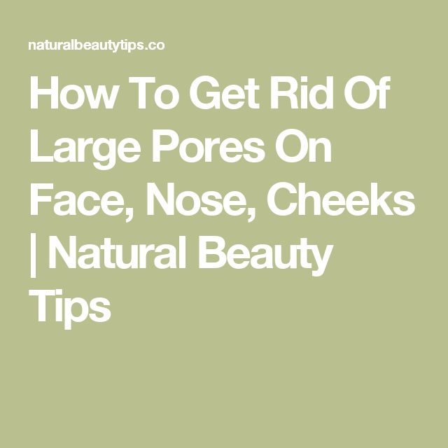 how to get clean pores