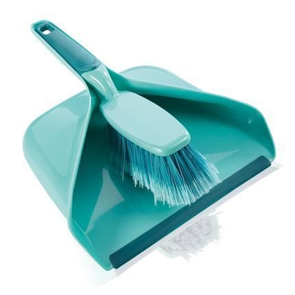 Leifheit Broom and Dustpan Set,