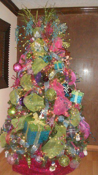 17 best images about rboles de navidad on pinterest - Arbol de navidad decorado ...