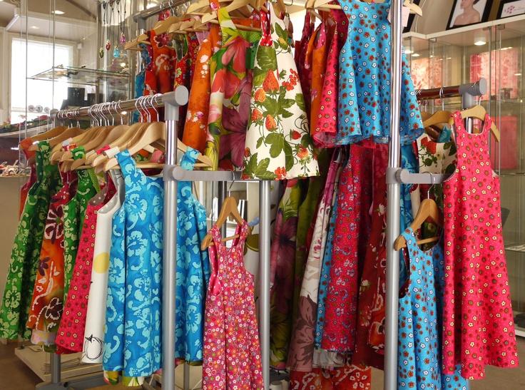 Taikarasia: Designer Outi Juusti's range of 'Poikue' clothing for little girls.
