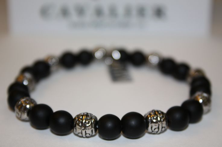 Metal Ball, Matte Black Beads