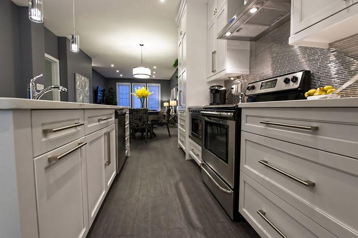 Open galley kitchen #modern #classy