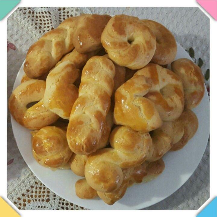 Koulourakia - Greek Easter Vanilla Biscuits