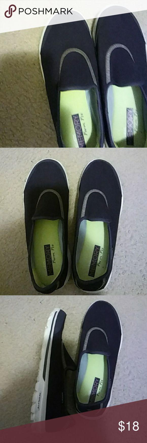 Skechers Blue skechers slip on shoes Skechers Shoes Sneakers