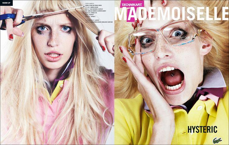 Mademoiselle .. #TBT  #Hysteric #Lacoste  #TobiasZarius
