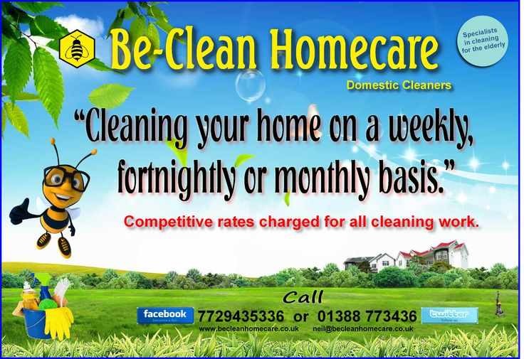 Cleaning Your Home On a Weekly, Fortnightly or Monthly Basis