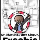 Celebrate Dr. Martin Luther King Jr. Day with this free unit.    Inside you will find writing activities and links to videos.   Freebie offered und...