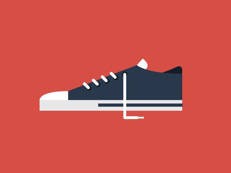 Animated Sneaker Shoe Gif