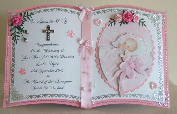 Про, открытки на крестины девочек