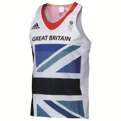 Adidas Team GB Running Singlet  $50