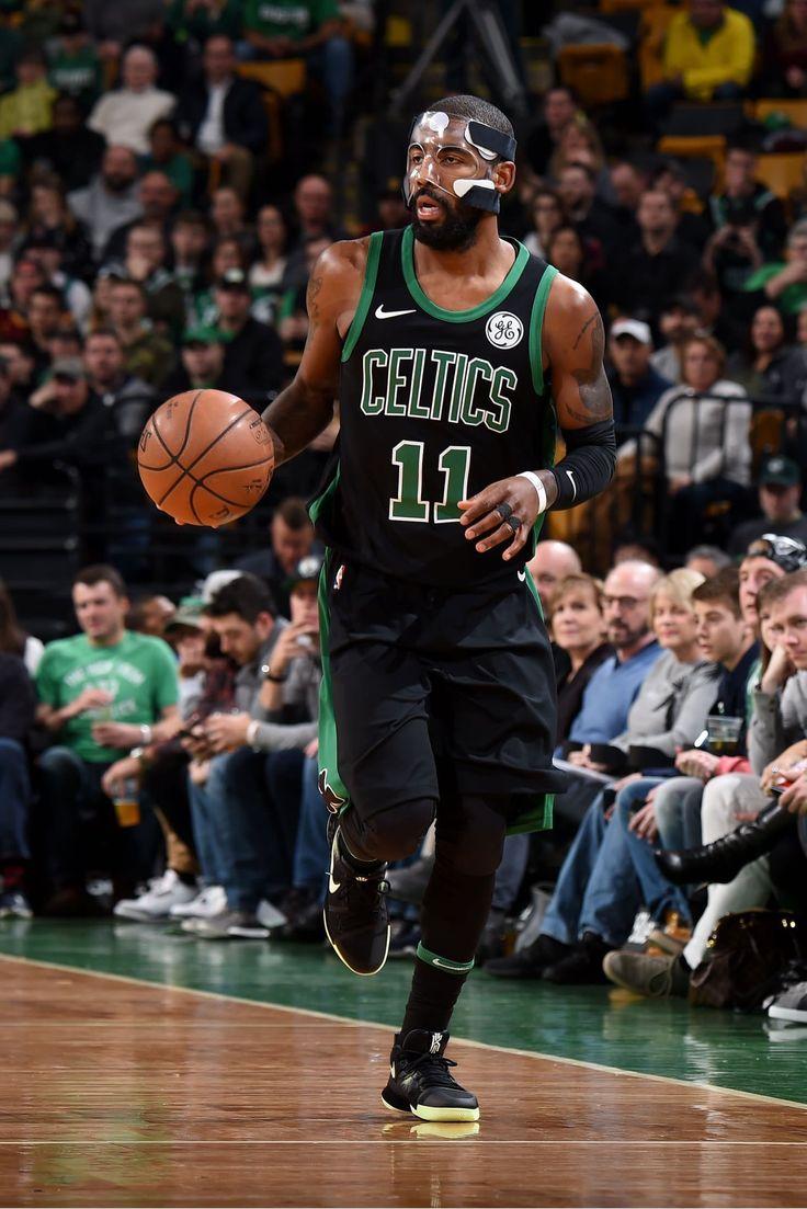 #KyrieIrving in Celtics Statement uniform.