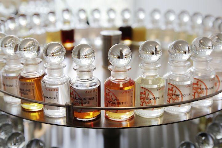 Jean-Claude Ellena -L'Atelier des parfums Hermès. Hermès a l'exclusivité pour le choix de mes parfums.