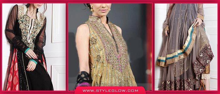 Latest Pakistani Fashion Frocks 2016