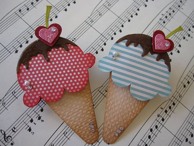Ice cream cones-Yum