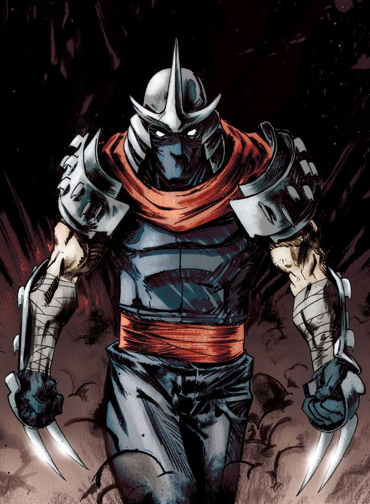 Shredder - TMNTPedia