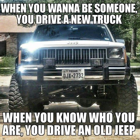 We have an old Jeep as our toad so we like this!