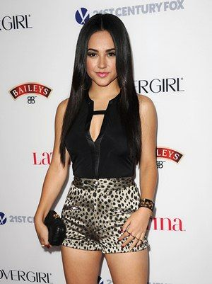 The singer Becky G Body Measurements Height Weight Bra Size Ethnicity Vital Stats and her waist, hip, age, bust, shoe, bra cup size along with body shape/type details are given.