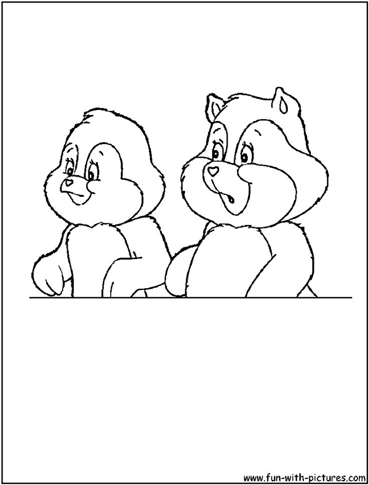 care bears cousins coloring pages - photo#11