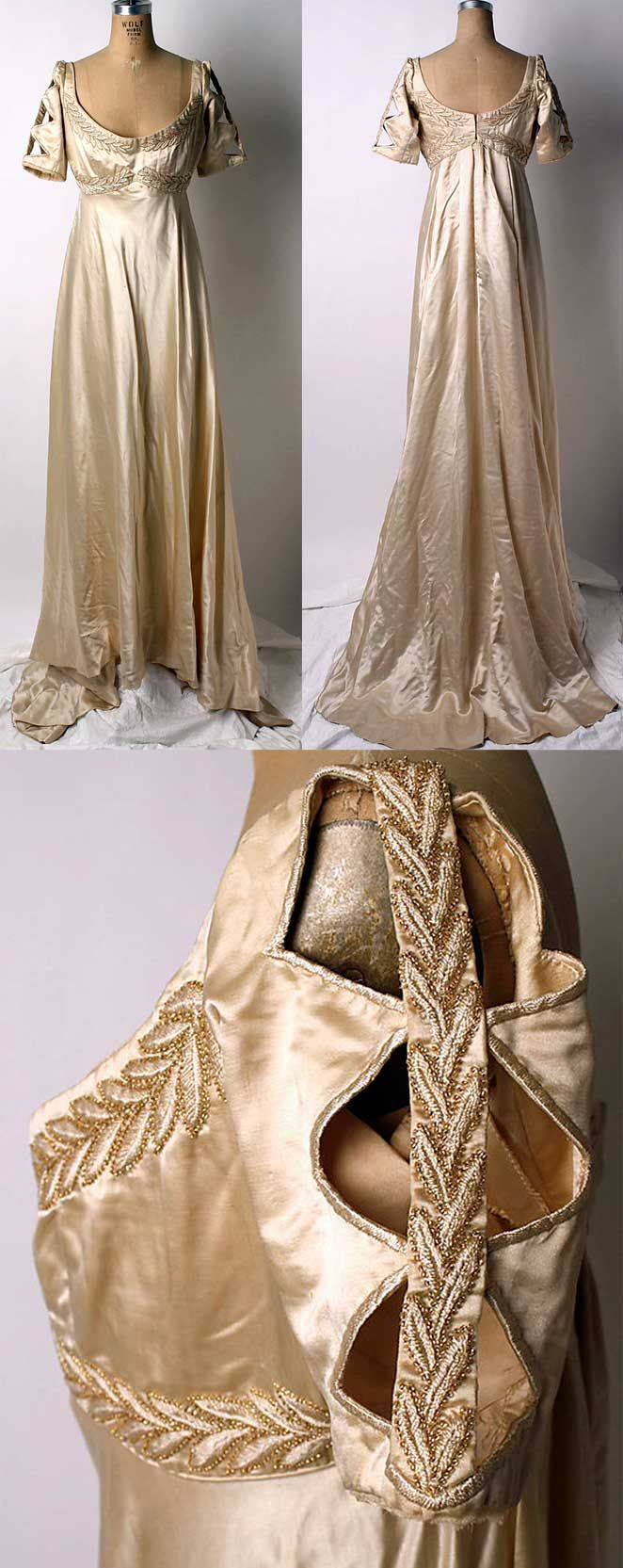 Old wedding shadowhunters dress                              …