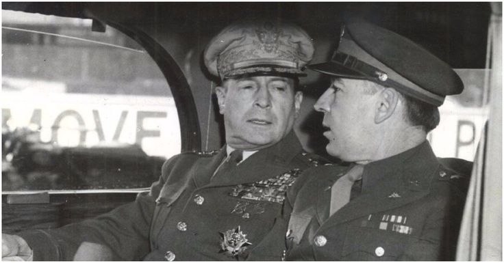 He created the Purple Heart award only to make himself the first recipient: The inexplicable controversial life of General Douglas MacArthur